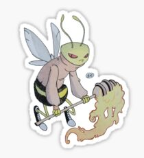 Cereal Monster: Buzz Bee Sticker
