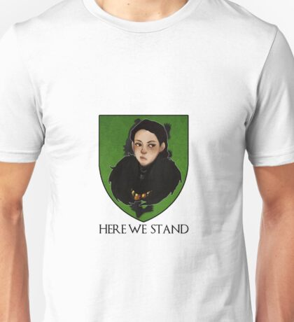 Lady Lyanna of the House Mormont Unisex T-Shirt
