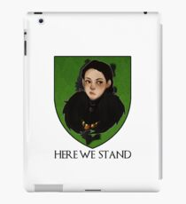 Lady Lyanna of the House Mormont iPad Case/Skin