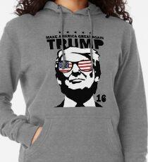 Donald Trump machen Amerika Great Again Shirt Leichter Hoodie