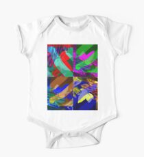 Psychedelic Panels  One Piece - Short Sleeve