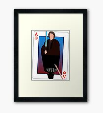 Star Wars Playing Card Framed Print