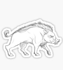 House Crakehall Falcon Graphic Drawing (Game of Thrones) Sticker