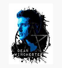 Supernatural - Dean Winchester Photographic Print