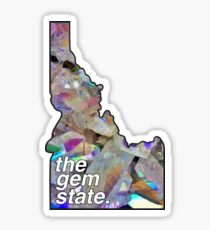 The Gem State Sticker