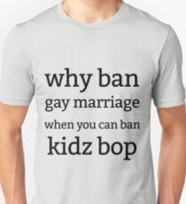 ban kidz bop Unisex T-Shirt