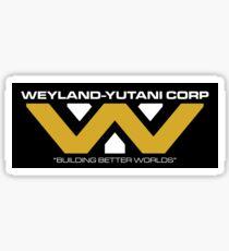 The Weyland-Yutani Corporation Logo Sticker