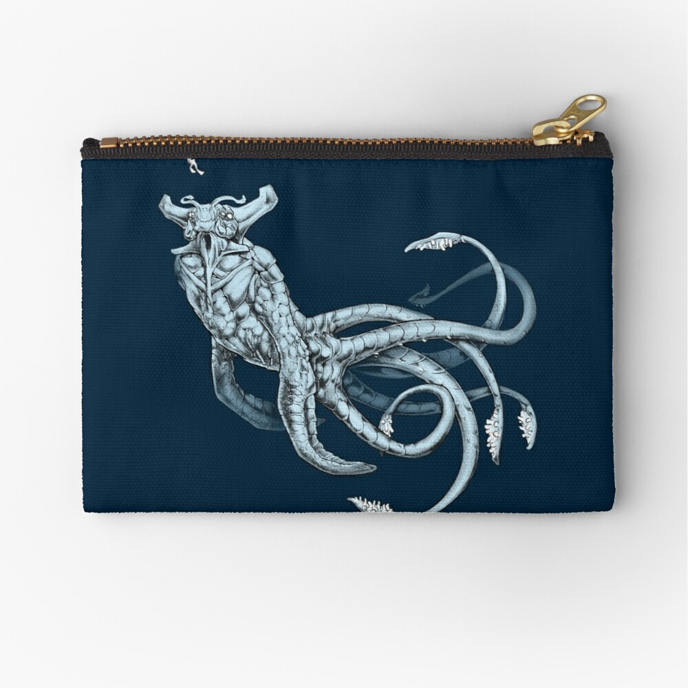 Sea Emperor Transparent Zipper Pouch