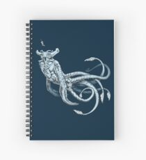 Sea Emperor Transparent Spiral Notebook