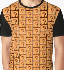 Question Brick Graphic T-Shirt