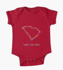 Rainbow South Carolina map Kids Clothes