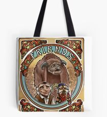 Labyrinth Art Nouveau Tribute Tote Bag