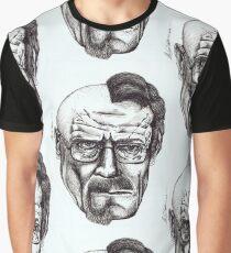 Heisenberg VS Walter White Graphic T-Shirt