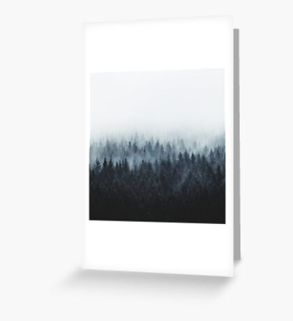High And Low Greeting Card