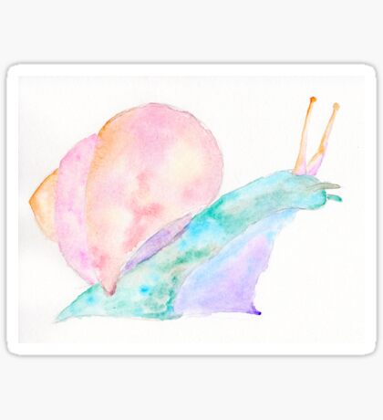 Dream Snail - Watercolor Spirit Animal Sticker