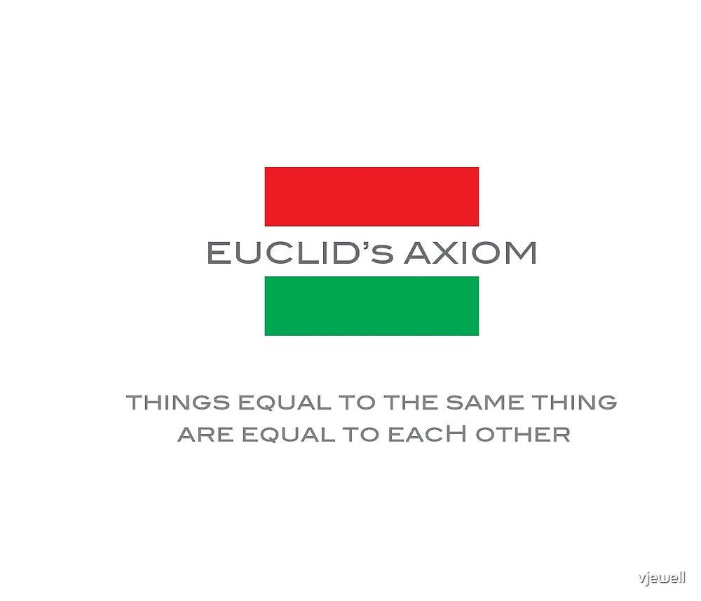 Euclid's Axiom 1 by vjewell