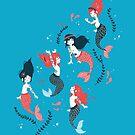 « Tattooed Mermaids  » par Mahaut Lemoine