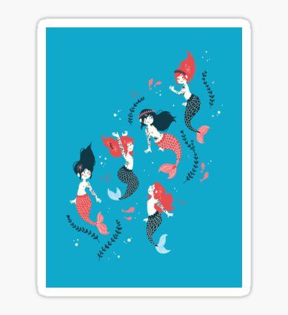 Tattooed Mermaids  Sticker