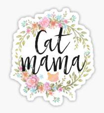 Pegatina CAT MAMA