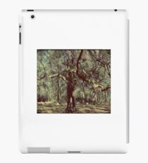 Eeriness of Nature's Aged Tree Artistic Unique Decor iPad Case/Skin