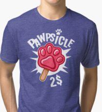 Pawpsicle Tri-blend T-Shirt