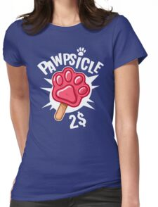 Pawpsicle Womens Fitted T-Shirt