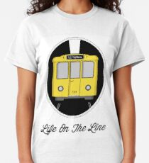 Berlin U-Bahn Train - Life on the Line - Classic T-Shirt
