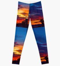 Multi Color Sunset Leggings