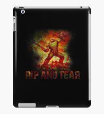 Doom - Doomslayer - Rip And Tear iPad Case/Skin