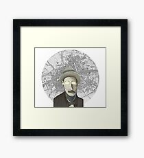 James Joyce Framed Print