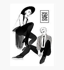 GD&TOP - Zutter (by xxxgenchou) Photographic Print