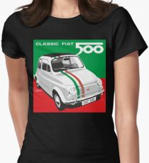 Fiat 500 Italian flag T-Shirt