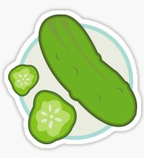 Raining Pickles Sticker