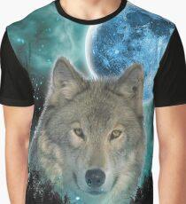 Grey Wolfs Skylight Graphic T-Shirt