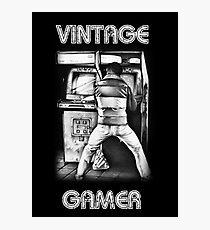 Vintage Gamer Photographic Print