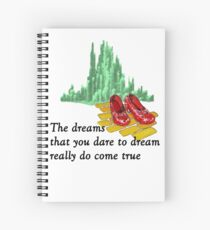 The Wizard of Oz Spiral Notebook