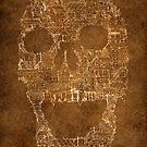 Skull - Shantytown Lights by Felipe Navega