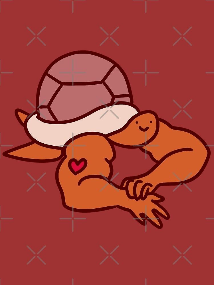 Turtle with Buff Arms by SaradaBoru