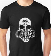 Biohazard Zombie Skull F U Unisex T-Shirt