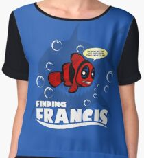 Finding Francis BN Chiffon Top