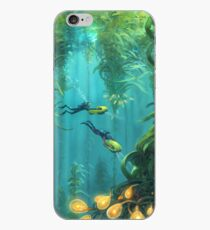 Exploring the Kelp Forest iPhone Case