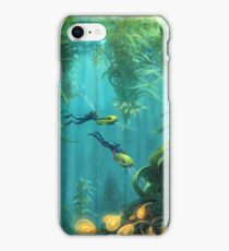 Exploring the Kelp Forest iPhone Case/Skin