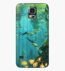 Den Kelp-Wald erforschen Hülle & Klebefolie für Samsung Galaxy