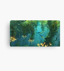 Exploring the Kelp Forest Canvas Print