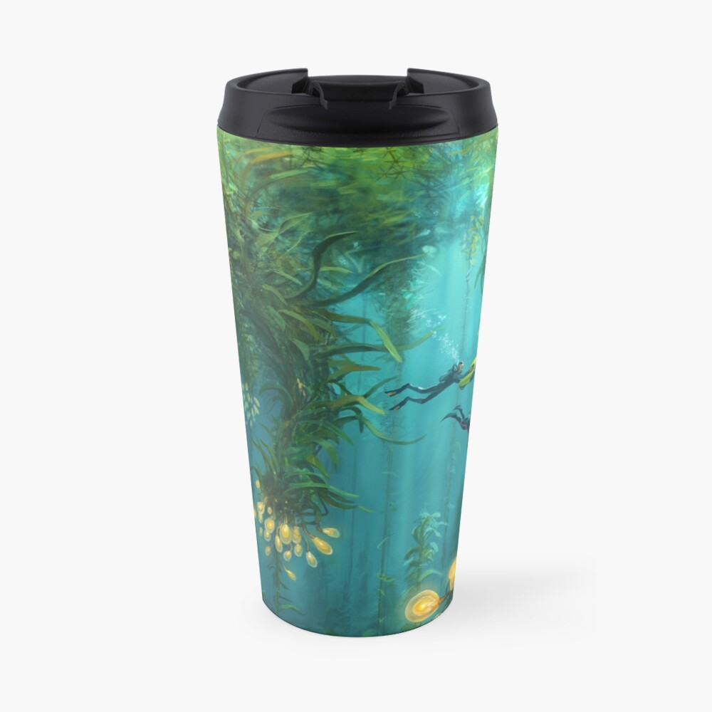 Exploring the Kelp Forest Travel Mug