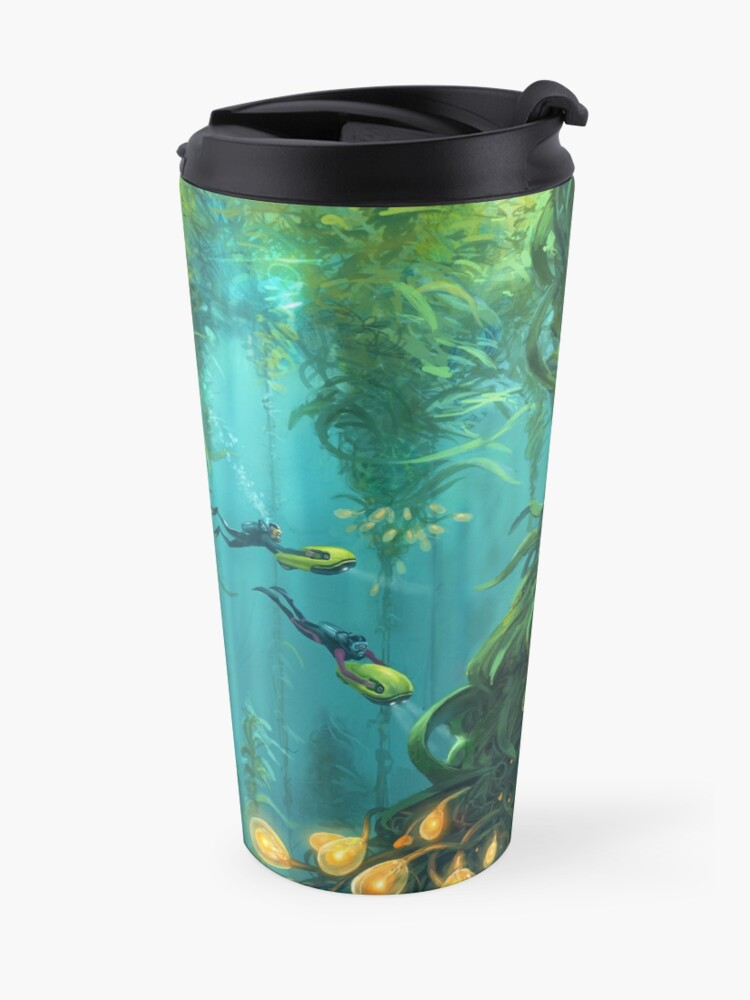 Alternate view of Exploring the Kelp Forest Travel Mug