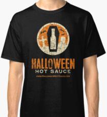 Halloween Hot Sauce Distressed logo Classic T-Shirt