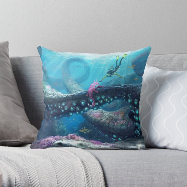 Twisty Bridges Throw Pillow