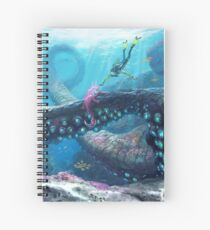 Twisty Bridges Spiral Notebook