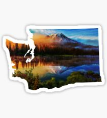 Washington cascades  Sticker